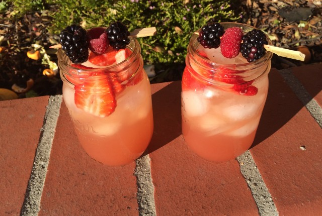 Triple Berry Lemonade