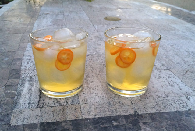 My deliciously easy kumquat lemonade recipe.