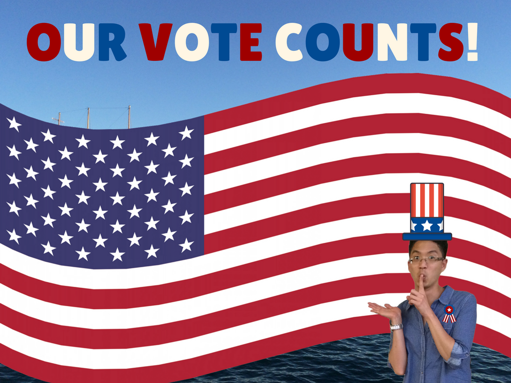 Our vote counts image