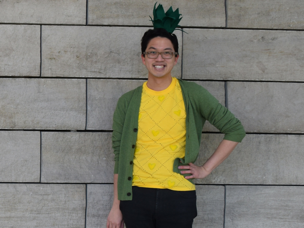 DIY Pineapple Costume