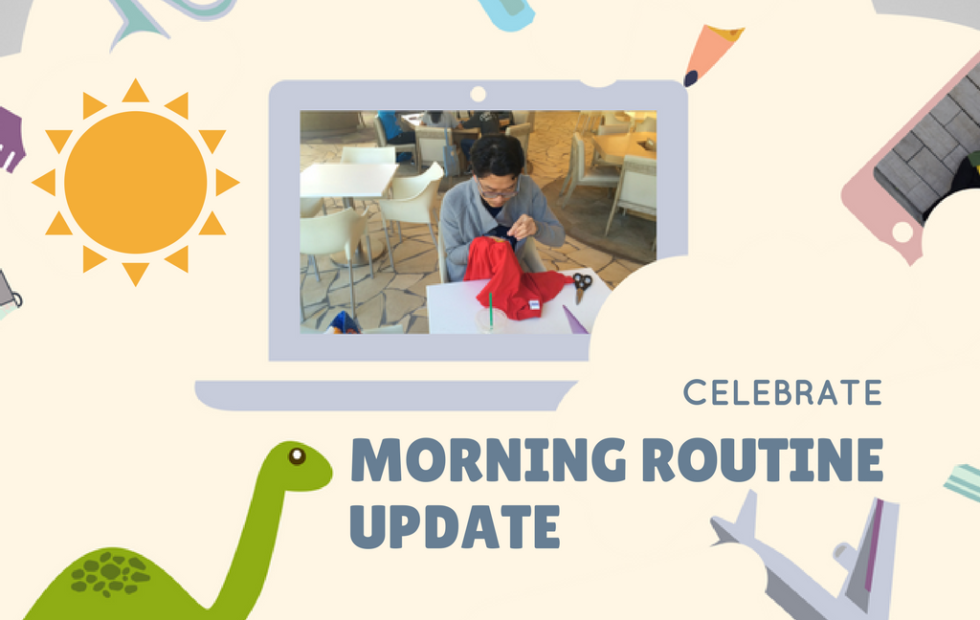 morning routine update featured image