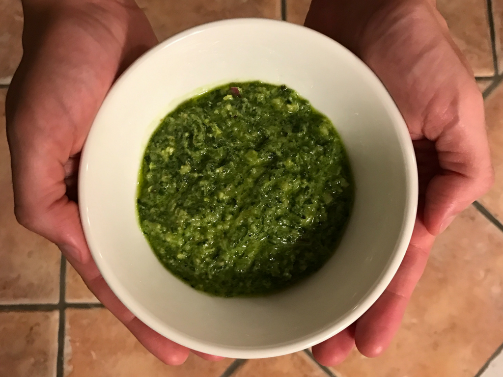 Cashew and Arugla Pesto Recipe